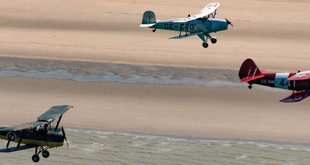 Vintage Air Rally Knokke